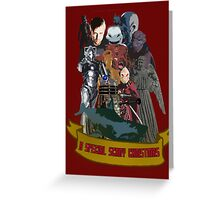 A special scary Christmas - Doctor Who Greeting Card
