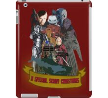A special scary Christmas - Doctor Who iPad Case/Skin