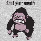 Angry Gorilla by BANDERUS MARTIN