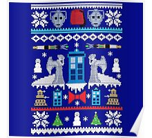 Angel Doctor Who Sweater Poster