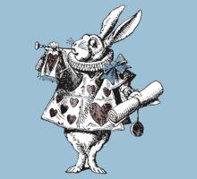 Alice in Wonderland White Rabbit T-Shirt Kids Clothes