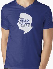 Mark Kermode - and hello to Jason Isaacs  Mens V-Neck T-Shirt