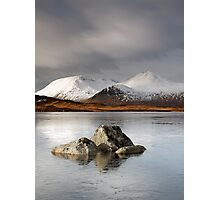 Lochan na h-Achlaise Photographic Print