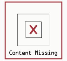 Content Missing - Geeky Tee Kids Tee