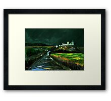 Cashel  The View from Palmers Hill Framed Print