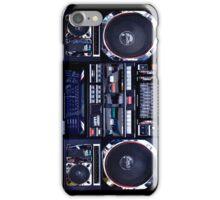 Old School Boombox iPhone Case iPhone Case/Skin