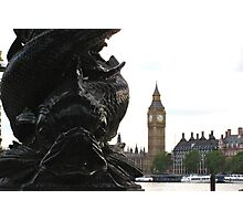 A view from the South Bank (London) Photographic Print