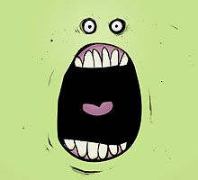 Green Snot Monster Terror!!! by Dean Murray