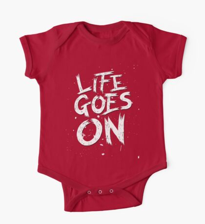 Life Goes On One Piece - Short Sleeve