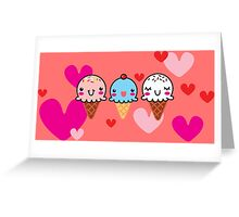 Ice Cream You Scream Greeting Card