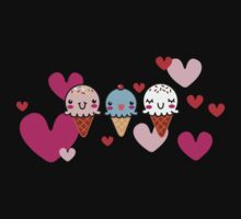 Ice Cream You Scream Kids Tee