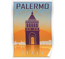 Palermo vintage poster Poster