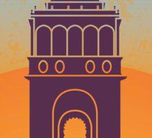 Palermo vintage poster Sticker