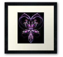 The Valentine Orchid Framed Print
