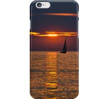 Summer Sunset on the Baltic Sea iPhone Case/Skin