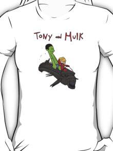 Tony and Hulk T-Shirt