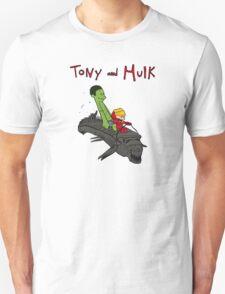 Tony and Hulk Unisex T-Shirt