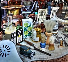 Barber Shop Tools by James Eddy