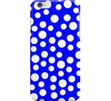 Polka dots Blue Iphone and Ipod Cases  iPhone Case/Skin