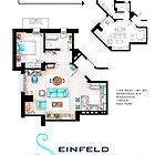 Seinfeld Apartment by Iaki Aliste Lizarralde