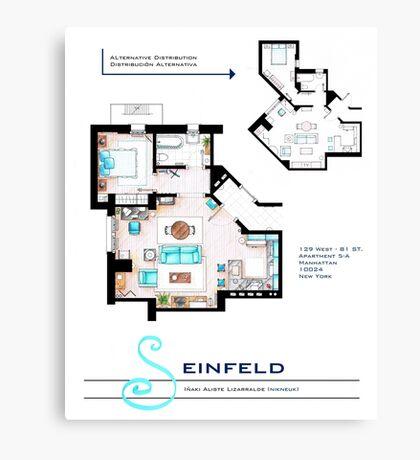 Seinfeld Apartment Canvas Print