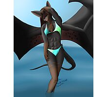 Beach Batty Photographic Print