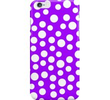 Polka dots Purple Iphone and Ipod Cases  iPhone Case/Skin