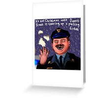 Dennis Frantz at Christmas Greeting Card