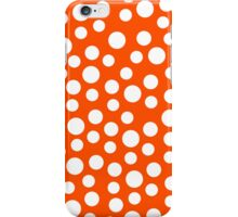 Polka dots Orange Iphone and Ipod Cases  iPhone Case/Skin