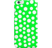 Polka dots Green Iphone and Ipod Cases  iPhone Case/Skin