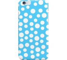 Polka dots Baby Blue Iphone and Ipod Cases  iPhone Case/Skin
