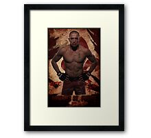 Georges St-Pierre Framed Print