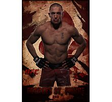 Georges St-Pierre Photographic Print