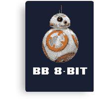 BB 8-Bit Canvas Print