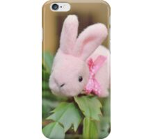 Bunny Collection #12 - bunny on a christmas cactus iPhone Case/Skin