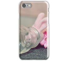 Bunny Collection #8 - a bunny with a bottle iPhone Case/Skin