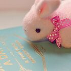 Bunny Collection #2 - a bunny and a diary by Cyndy Ejanda