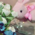 Bunny Collection #6 - a bunny and some more flowers by Cyndiee Ejanda
