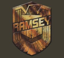 Custom Dredd Badge Shirt - (Ramsey) by CallsignShirts