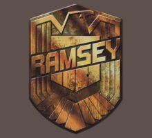 Custom Dredd Badge Shirt - (Ramsey) Kids Clothes