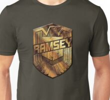 Custom Dredd Badge Shirt - (Ramsey) Unisex T-Shirt