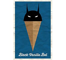 Black Vanilla Bat Photographic Print