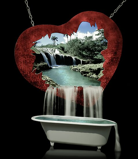 You took me to paradise, chained and broke my heart, then took me for a bath... by Randy Turnbow