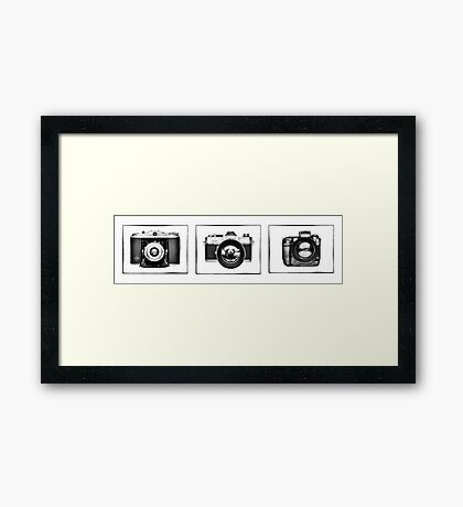 The Camera Age Framed Print