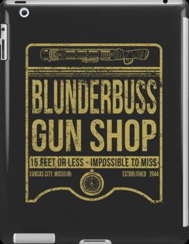 Blunderbuss Gun Shop by moysche