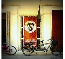 Bicicletas Photographic Print