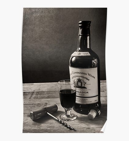 A Bottle of Port Poster