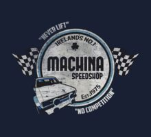 Machina Attire - Ireland Speedshop by Twain Forsythe