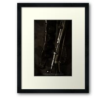 This is my Rifle, there are many like it.... Framed Print