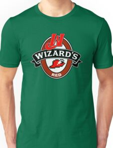 Wizard's Red Unisex T-Shirt